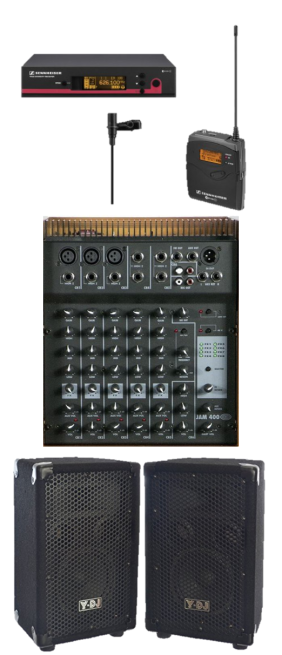 PA System components